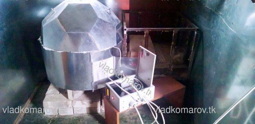 Печь для обжига керамики 45л 1100С Пепелац