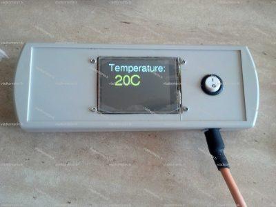 Термометр с термопарой хромель-алюмель