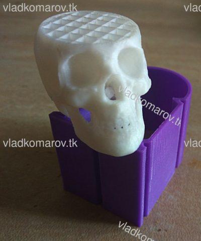 Череп на 3d-принтере